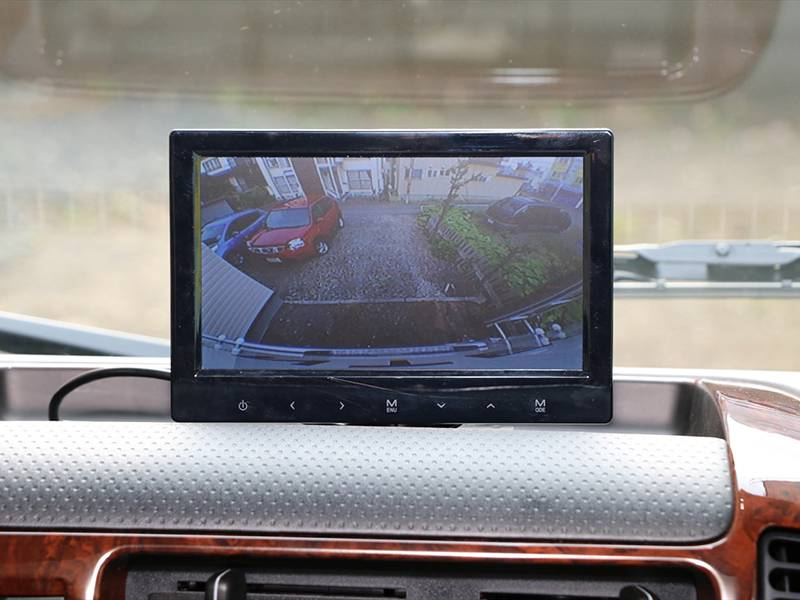 車輛後方視界カメラ常時撮影で運転も安心
